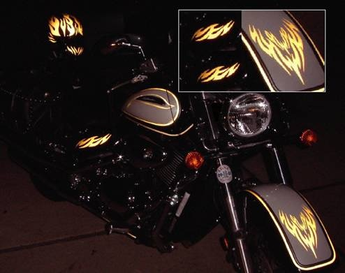 Motorcycle Graphics Stickers
