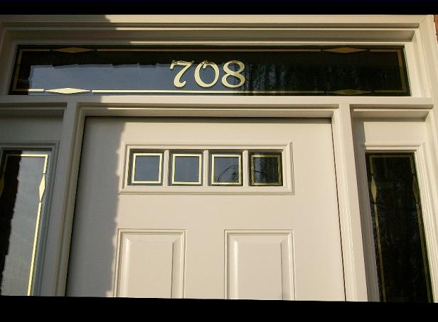 Curb Appeal custom door window transom decorative accent trim ...