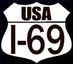 Interstate 69 stickers decals