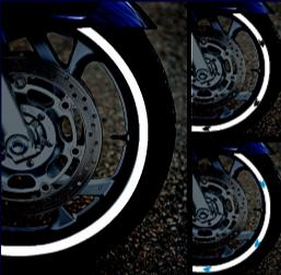 reflective tape for wheels