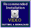 installation video decal cutting a biohazard for helmet installation