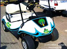 golf cart and buggy reflective decals and graphics set. Black Bedroom Furniture Sets. Home Design Ideas