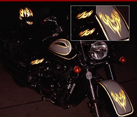 Motorcycle Decals and Motorcycle Stickers