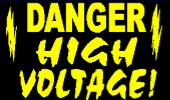 Danger Overhead Lines Lower Bed reflective sign 18x24""