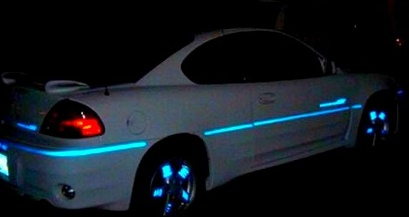 Streegglo reflective tape pin stripe 3m reflective tape auto pinstripe on a car reflective aloadofball Gallery