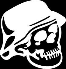 Streetglo Decals And More Decals Reflective Decals For All - Skull decals for motorcycles