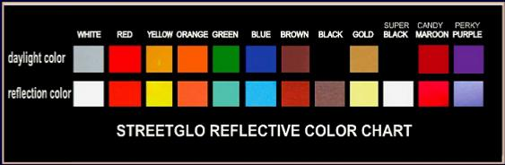 Streetglo Decals And More Decals Reflective Decals For All - Custom reflective helmet decals stickers