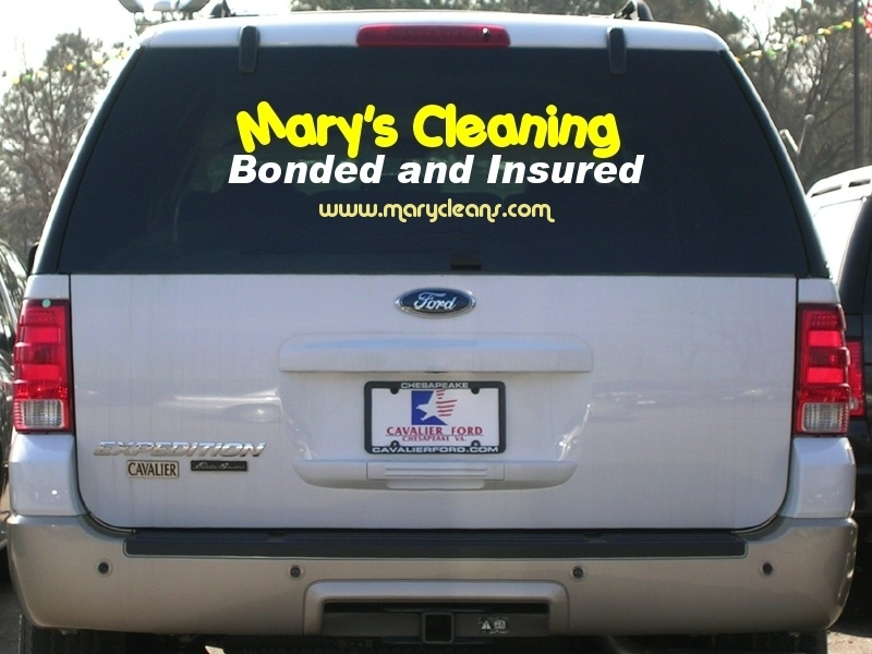 Car suv window decal web advertising